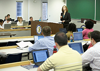Classroom at Atlanta's John Marshall Law School