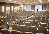 Auditorium at Atlanta's John Marshall Law School's Blackburn Conference Center
