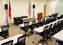 Seminar Room at Atlanta's John Marshall Law School's Blackburn Conference Center