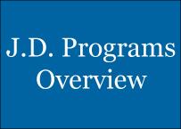 JD Programs Overview link
