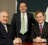 Photo of representatives for the plaintiff: Lawrence Schlachter, Darren Summerville and Lloyd Bell