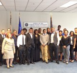 Image of Street Law Program participants at Atlanta's John Marshall Law School 2014